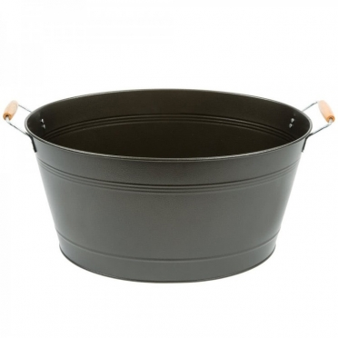 Black Oval Tub for Rent