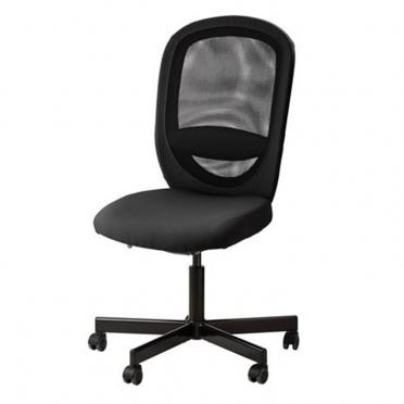 Gramercy Swivel Chair Black for Rent