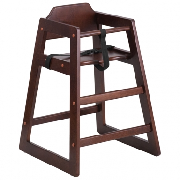 Wooden High Chair for Rent