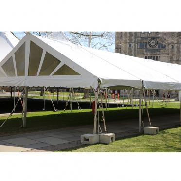 Inside tenting