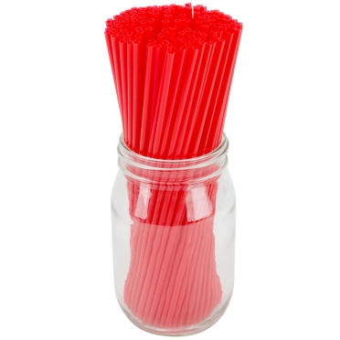 Red Bar Straw for Rent