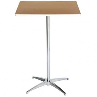 Square Cocktail Table for Rent