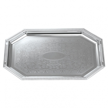 Stainless Octagon Tray for Rent