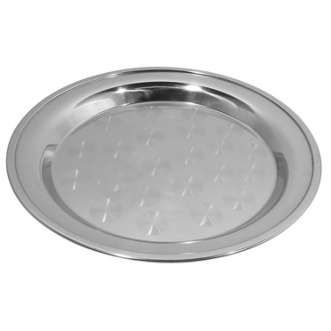 Stainless Swirl Tray for Rent