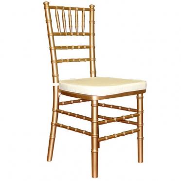 Chiavari chair with cushion