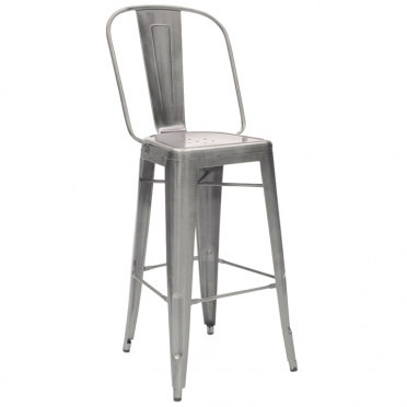 Gunmetal Bar Stool for Rent
