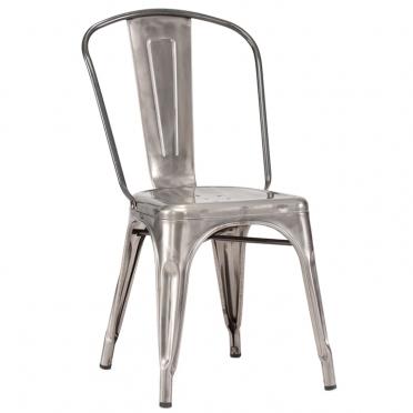 Gunmetal Bistro Chair for Rent