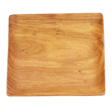 Acacia Wood Square Platter for Rent