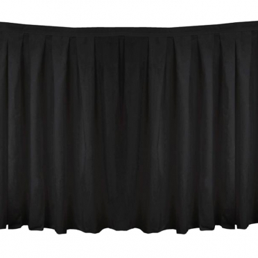 Polyester Polyester Solid Table Skirt for Rent