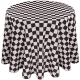 Colored Prints Racing Tablecloth for Rent