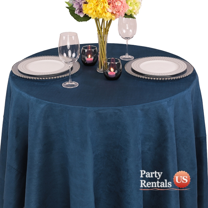 Montana Suede Tablecloth for Rent