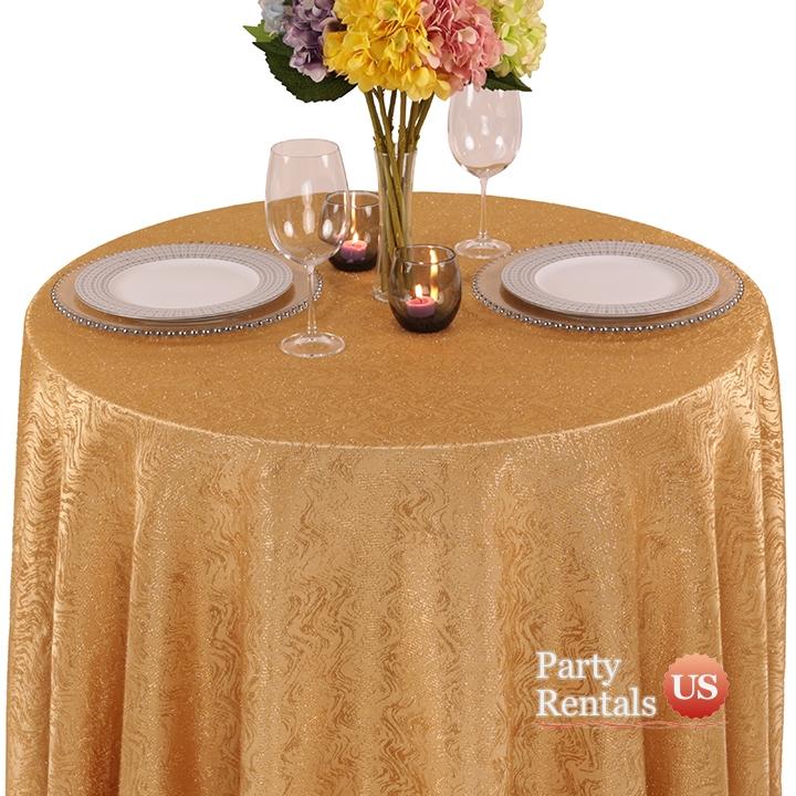 Taffeta Cabaret Tablecloth for Rent