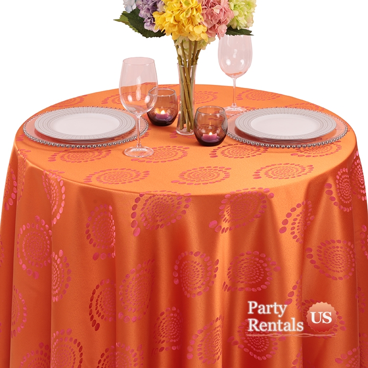 Art Deco Kaleidoscope Tablecloth for Rent